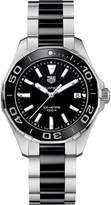 Tag Heuer WAY131A.BA0913 aquaracer stainless steel and cermic watch
