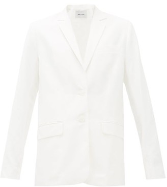 Matteau Cotton-blend Blazer - White