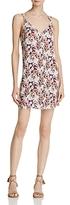 En Creme Floral Button-Front Dress