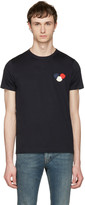Moncler Navy Maglia T-shirt
