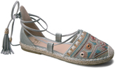 Light Blue Lala Embroidered Espadrille