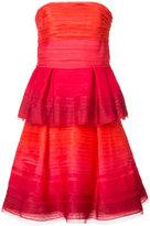 Carolina Herrera - layered strapless
