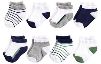 Yoga Sprout No Show Sock 8pk (Baby Boys)