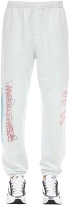 Printed Cotton Sweatpants