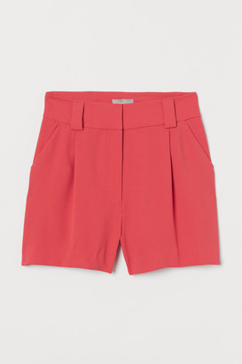 H&M Tailored Shorts - Red