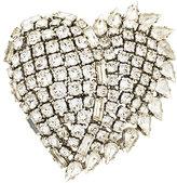 Saint Laurent Smoking Heart brooch