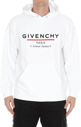 Givenchy Label Logo Hoodie