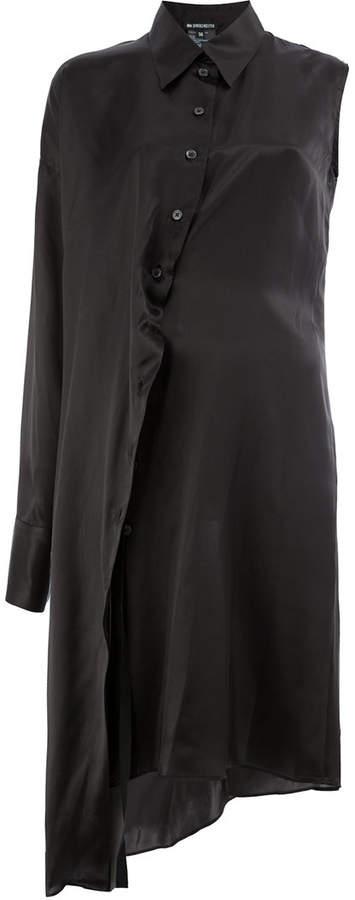 Ann Demeulemeester single sleeve shirt dress