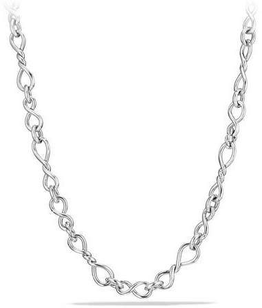 David Yurman Continuance Medium Sterling Silver Chain Necklace