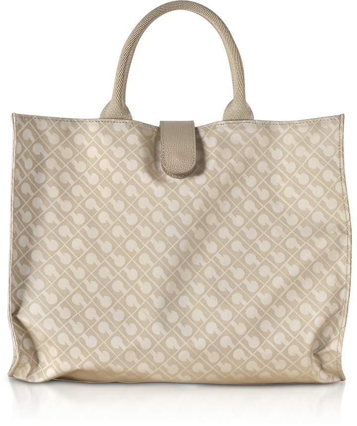Gherardini Clay Signature Fabric Softy Foldable Shopper Bag