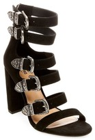 Mossimo Women's Western Multiple Buckle Quarter Strap Sandals