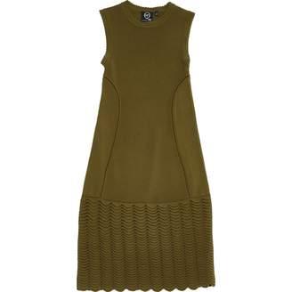 Alexander McQueen Khaki Viscose Dresses