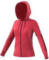 adidas Women's Essentials Linear Full-Zip Hoodie