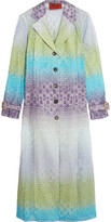 Missoni Crochet-knit coat
