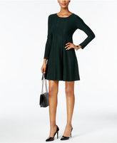 Jessica Howard Petite Flared Sweater Dress