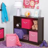 RiverRidge Kids Horizontal 2-Shelf Bookcase in Espresso