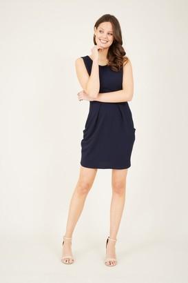 Yumi Navy Tulip Dress