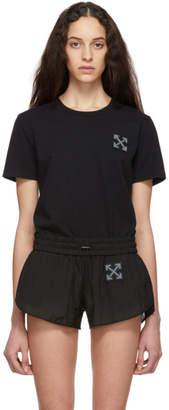 Off-White Off White SSENSE Exclusive Black WORKOUT Tiny Sport T-Shirt