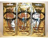 Ed Hardy 3 Packets Billionaire Bronzer Tone Tighten & Energize .7oz