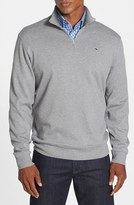 Vineyard Vines Men's Quarter Zip Cotton Jersey Sweatshirt