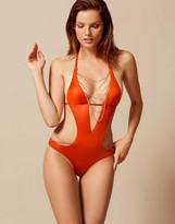 Agent Provocateur Tonya Swimsuit Orange