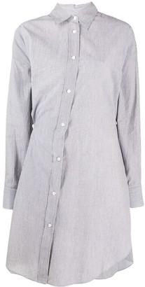 Etoile Isabel Marant off-center Seen shirt dress