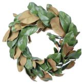 Gold Eagle Magnolia Leaves Wreath, 22