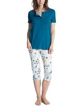 Calida Women's Cosy Boho Pyjama Set,X-Small
