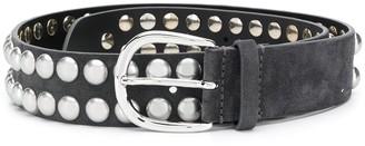 Isabel Marant Rica studded leather belt