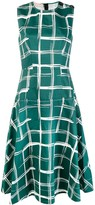 Marni check A-line dress