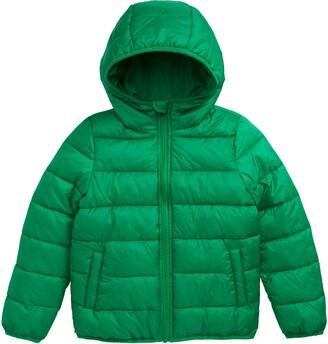 Nordstrom Kids' Hooded Puffer Jacket