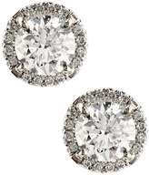 Diana M. Jewels 18k White Gold Statement Diamond Stud Earrings, 1.55tcw
