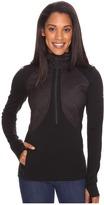 Icebreaker Ellipse Long Sleeve Half Zip Hood Women's Clothing