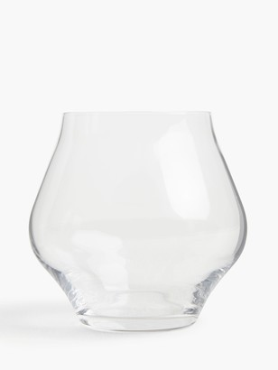 John Lewis & Partners Connoisseur Stemless Red Wine Glasses, Set of 4, 450ml, Clear