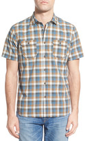 Jeremiah Dale Plaid Sport Short Sleeve Regular Fit Shirt