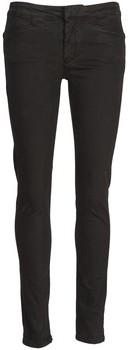 Acquaverde JOE women's Skinny Jeans in Black