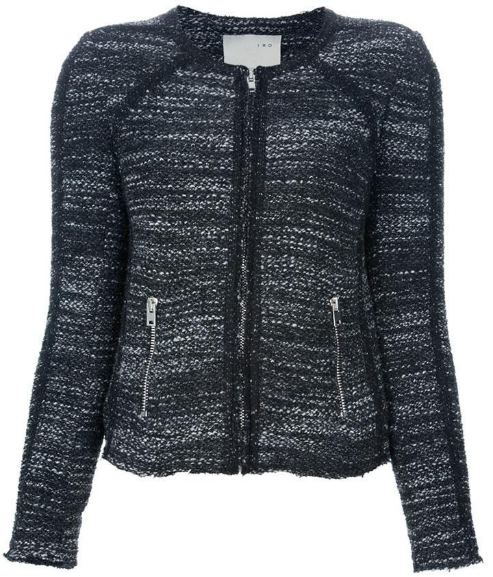 IRO Bouclé cropped jacket