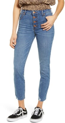 Prosperity Denim High Waist Crop Skinny Jeans