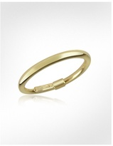 Thin 14K Hollow Yellow Gold Ring