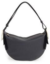 Salvatore Ferragamo 'Small Badia' Pebbled Leather Hobo Bag
