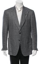 Tom Ford Patterned Two-Button Blazer