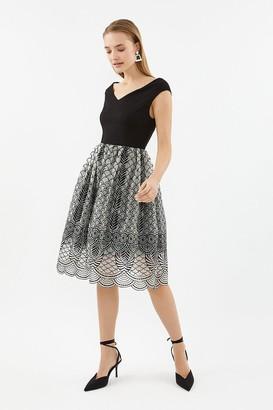 Coast Bardot Full Midi Dress