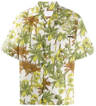 Prada foliage print shirt