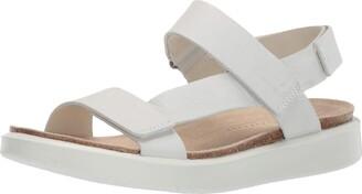 Ecco Women's Corkspheresandal Ankle Strap Sandals
