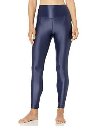 Core 10 Women's Standard Icon Series Liquid Shine High Waist Yoga Legging - 27 Navy