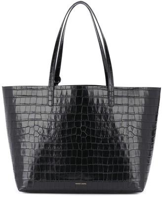 Mansur Gavriel Crocodile-Effect Tote Bag