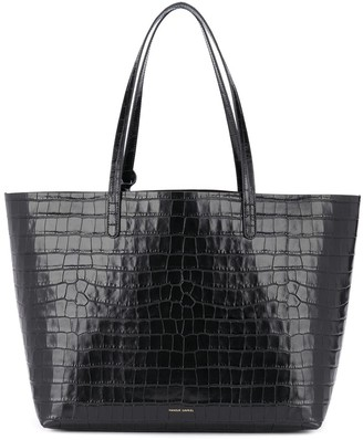 Mansur Gavriel Crocodile Embossed Effect Tote Bag