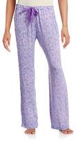 Calvin Klein Printed Drawstring Pyjama Pants