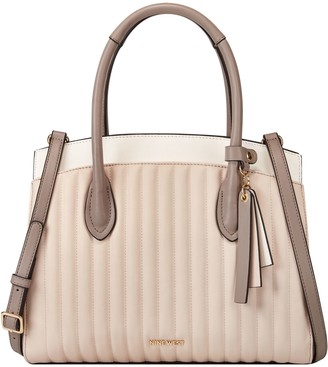 Nine West Lattice Logo Satchel - Charlize