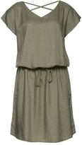 B.young Short-Sleeved Dress with Back Detail